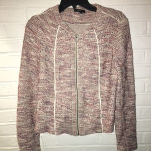 Drew Boucle Tweed Jacket Size Small